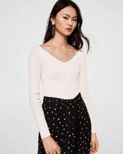 Белый пуловер Mango