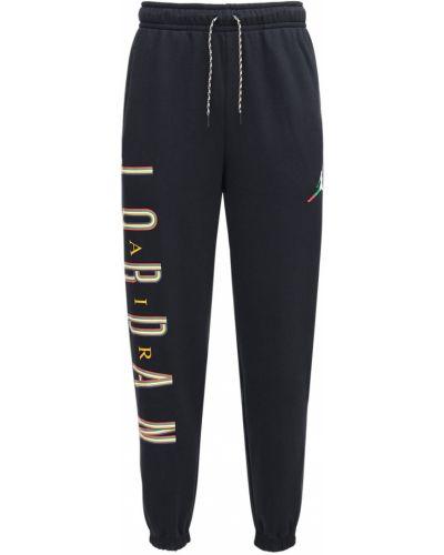 Bawełna bawełna czarny joggery z kieszeniami Nike