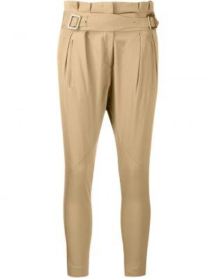 Spodnie wełniane Christian Dior