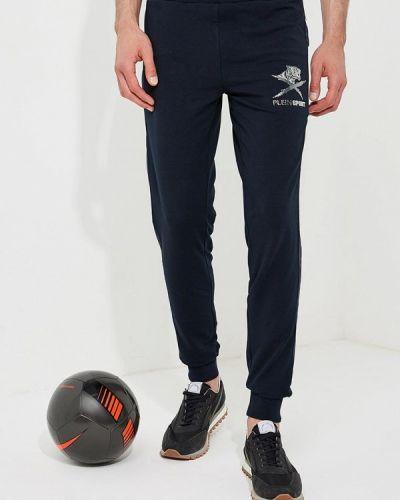 Синие спортивные брюки Plein Sport