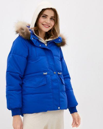 Утепленная синяя куртка Miss Gabby