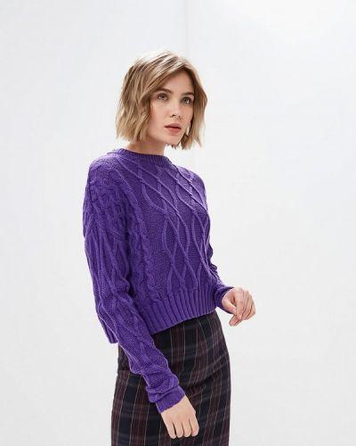 Фиолетовый джемпер Modis