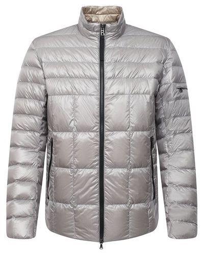 Серая пуховая куртка Bogner