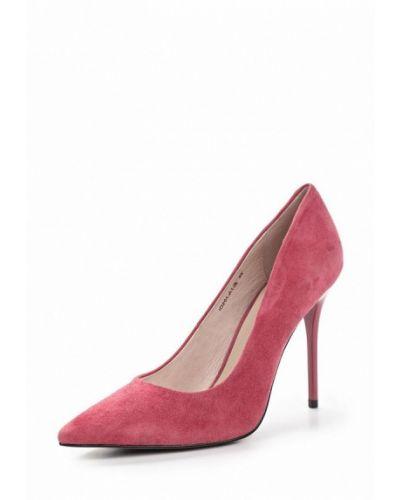 Туфли на каблуке замшевые Marie Collet