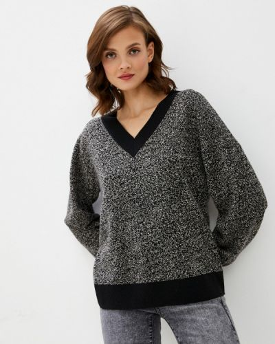 Пуловер - серый Unq