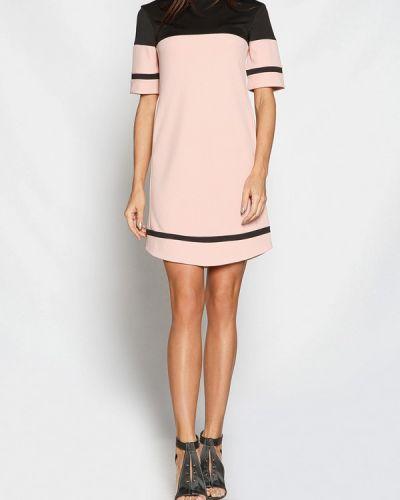 Розовое платье весеннее Gepur