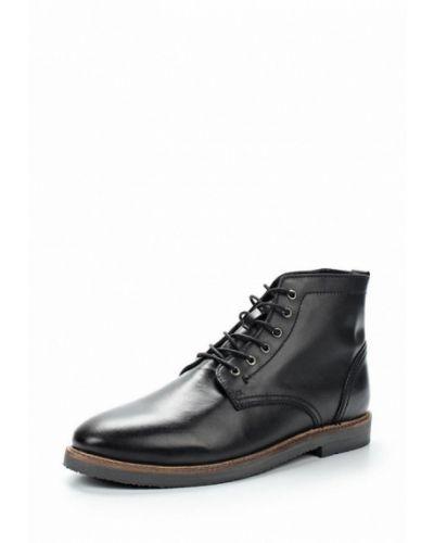 Ботинки осенние кожаные Topman