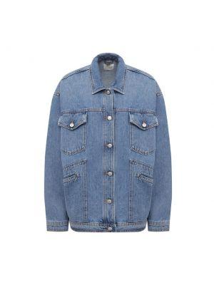 Хлопковая джинсовая куртка - голубая Magda Butrym