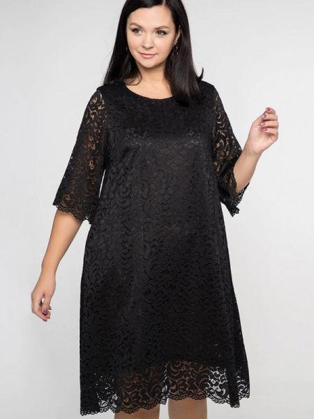 Вечернее платье осеннее черное Лимонти