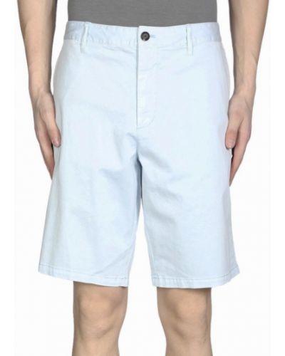 Джинсовые шорты - голубые Armani