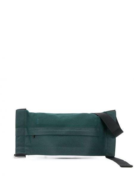 Zielona torebka crossbody srebrna 132 5. Issey Miyake