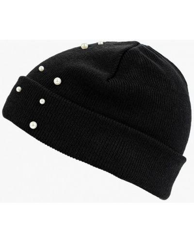 Черная шапка осенняя Befree