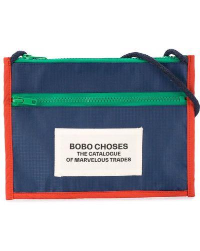 С ремешком синяя сумка на плечо прямоугольная Bobo Choses