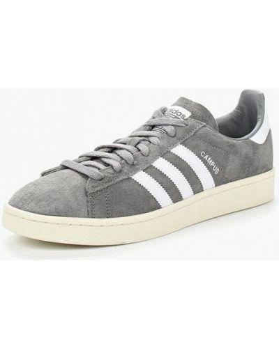 Серые кеды замшевые Adidas Originals