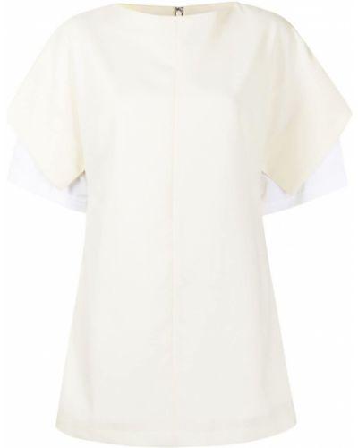 Biała koszula krótki rękaw - biała Enfold