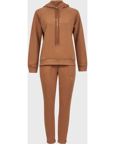 Хлопковый костюм - коричневый Vicolo
