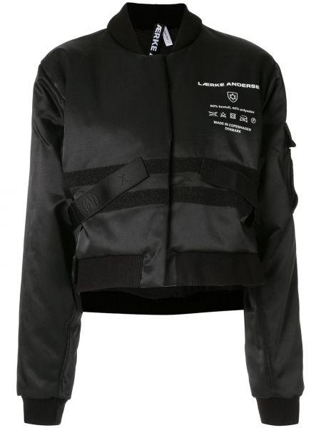 Черная куртка с манжетами Lærke Andersen
