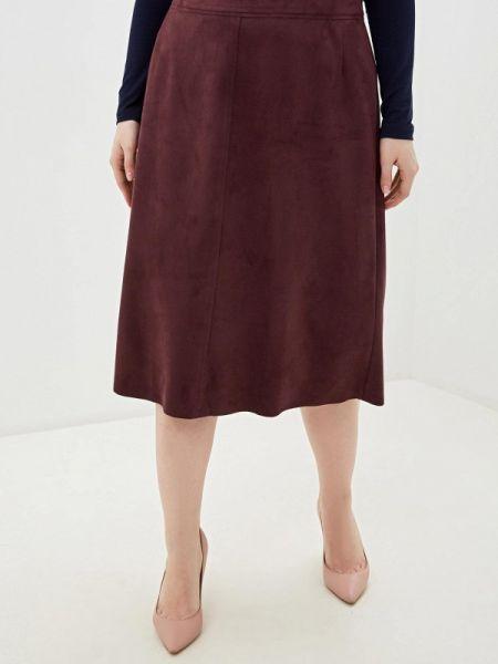 Бордовая юбка Gorda Bella