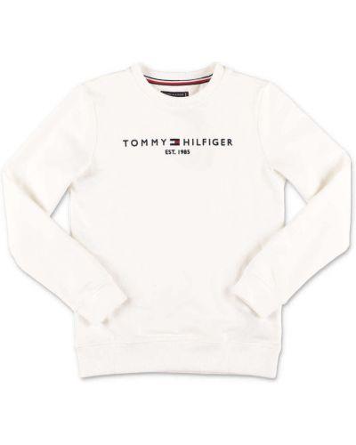 Biała bluza bawełniana Tommy Hilfiger