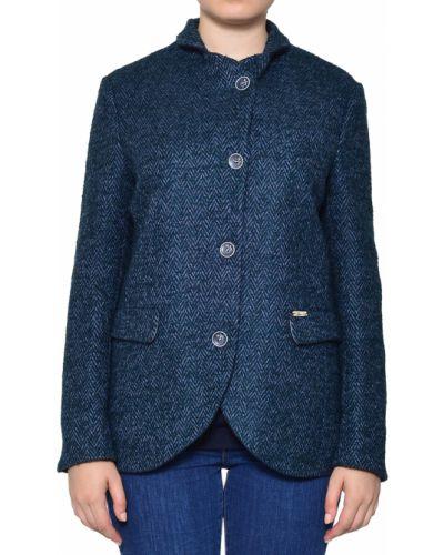 Пиджак шерстяной зеленый Luis Trenker