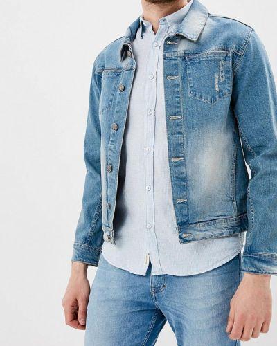 Синяя джинсовая куртка Lindbergh