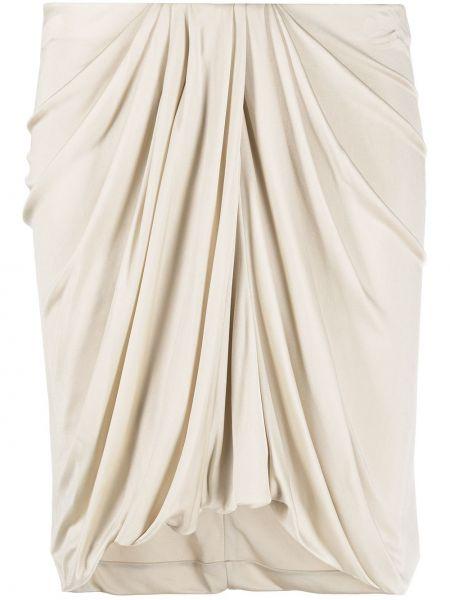 Асимметричная с завышенной талией юбка мини с драпировкой Isabel Marant