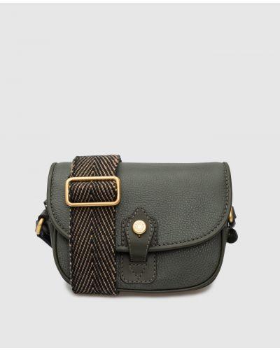 Кожаная сумка - зеленая Gianni Chiarini