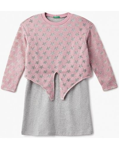 Платье розовый United Colors Of Benetton
