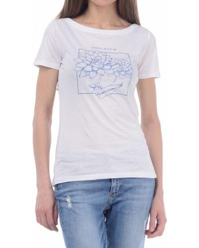 Футболка белая Armani Jeans