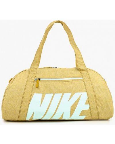 Желтая спортивная сумка Nike