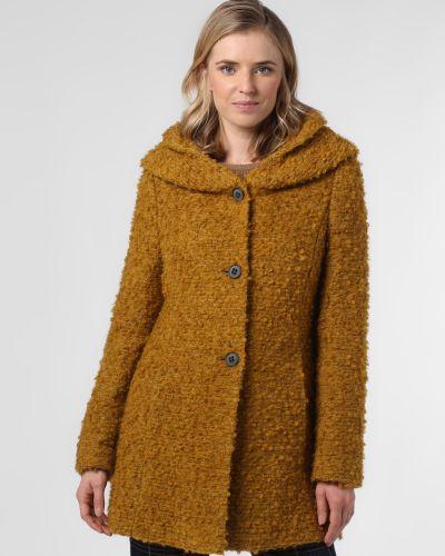 Żółty płaszcz oversize Amber & June