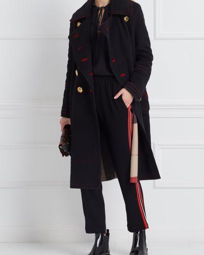 Пальто расклешенное милитари Burberry