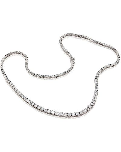 Серебряная цепочка из серебра с бриллиантом Montebello