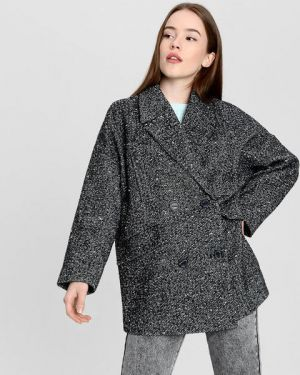Пальто букле шерстяное Ostin