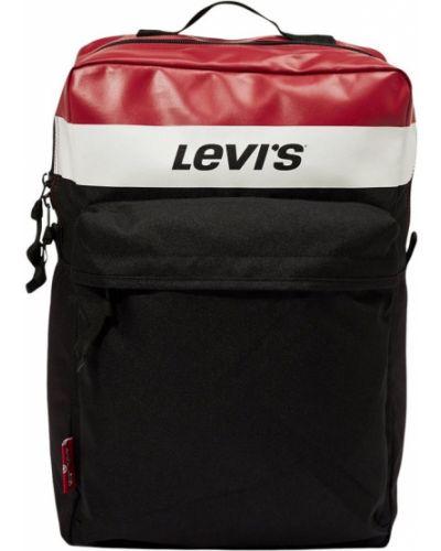 Czarny plecak Levi's