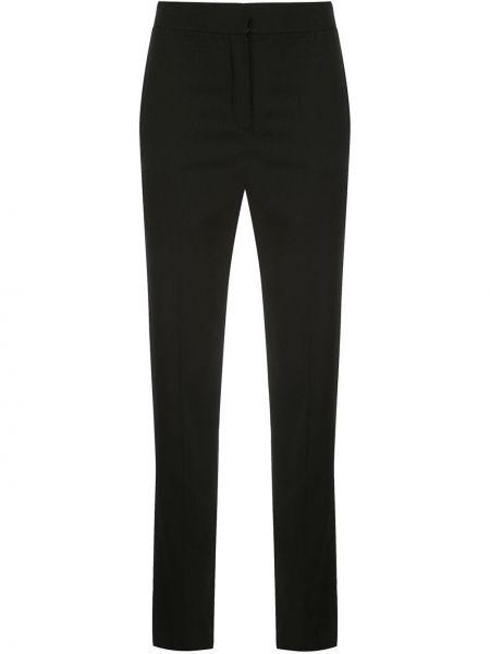 Шерстяные брюки с карманами Oscar De La Renta