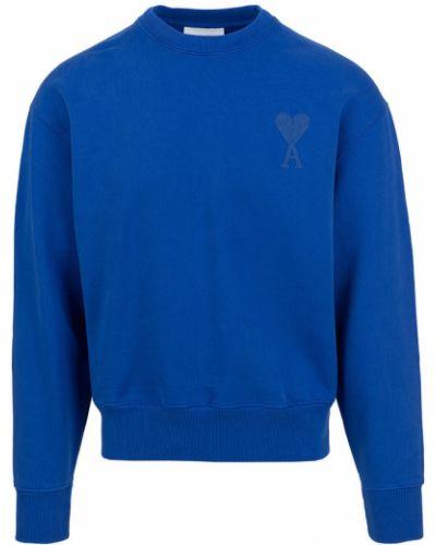 Niebieska bluza dresowa Ami Paris