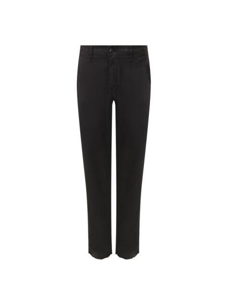 Хлопковые джинсы - черные Rag&bone