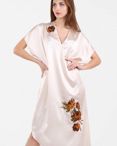 Летнее платье весеннее бежевое Panove