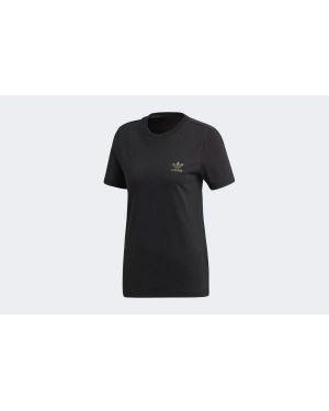 T-shirt bawełniana - czarna Adidas