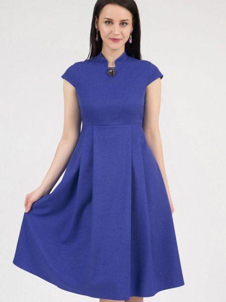 Повседневное платье синее весеннее Grey Cat