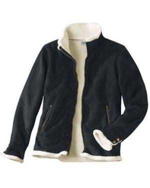 Утепленная куртка черная на молнии Atlas For Men
