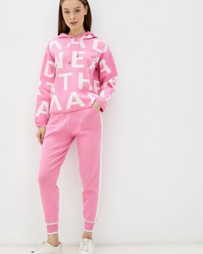 Розовый вязаный костюм Softy