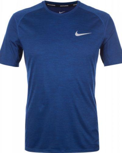 Синяя спортивная футболка Nike