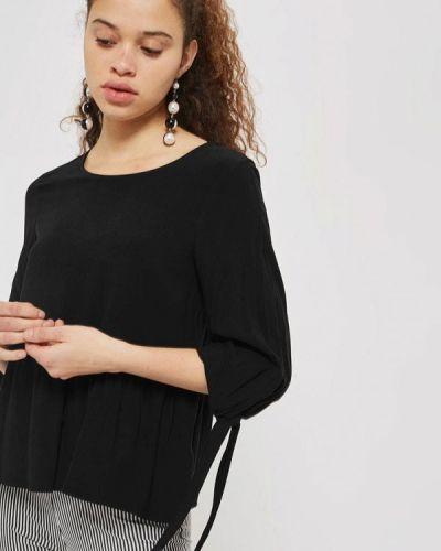 Черная блузка Topshop