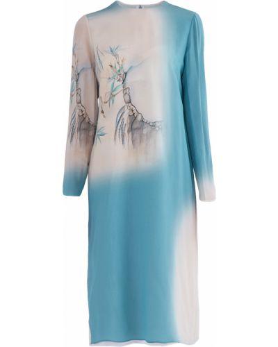 Платье миди прямое кимоно Valentino