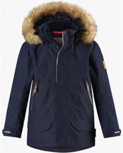 Синяя куртка теплая Reima
