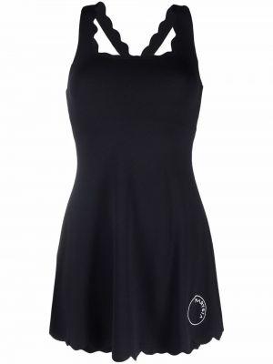 Платье мини без рукавов - черное Marysia