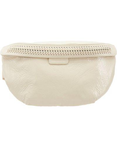 Белый широкий ремень с карманами с декоративной отделкой свободного кроя Stella Mccartney
