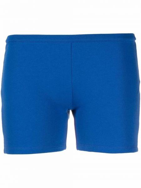 Хлопковые шорты - синие Ck Calvin Klein